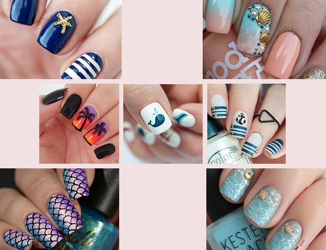 Ногти дизайн летняя тематика