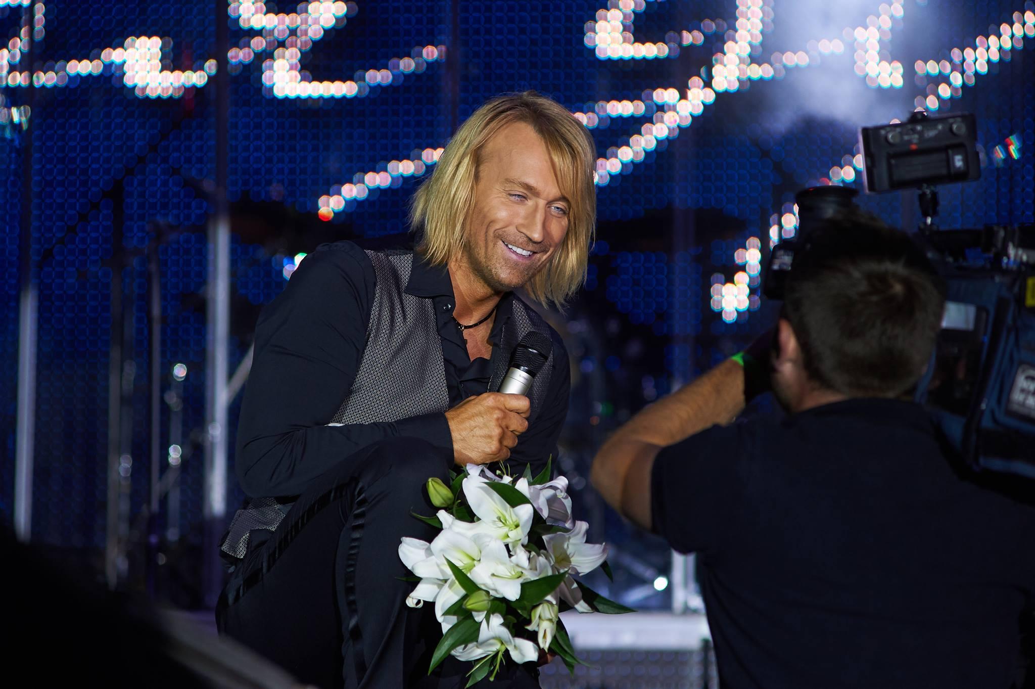 Олег Винник рассказал о любви с первого взгляда и про свое отношение к