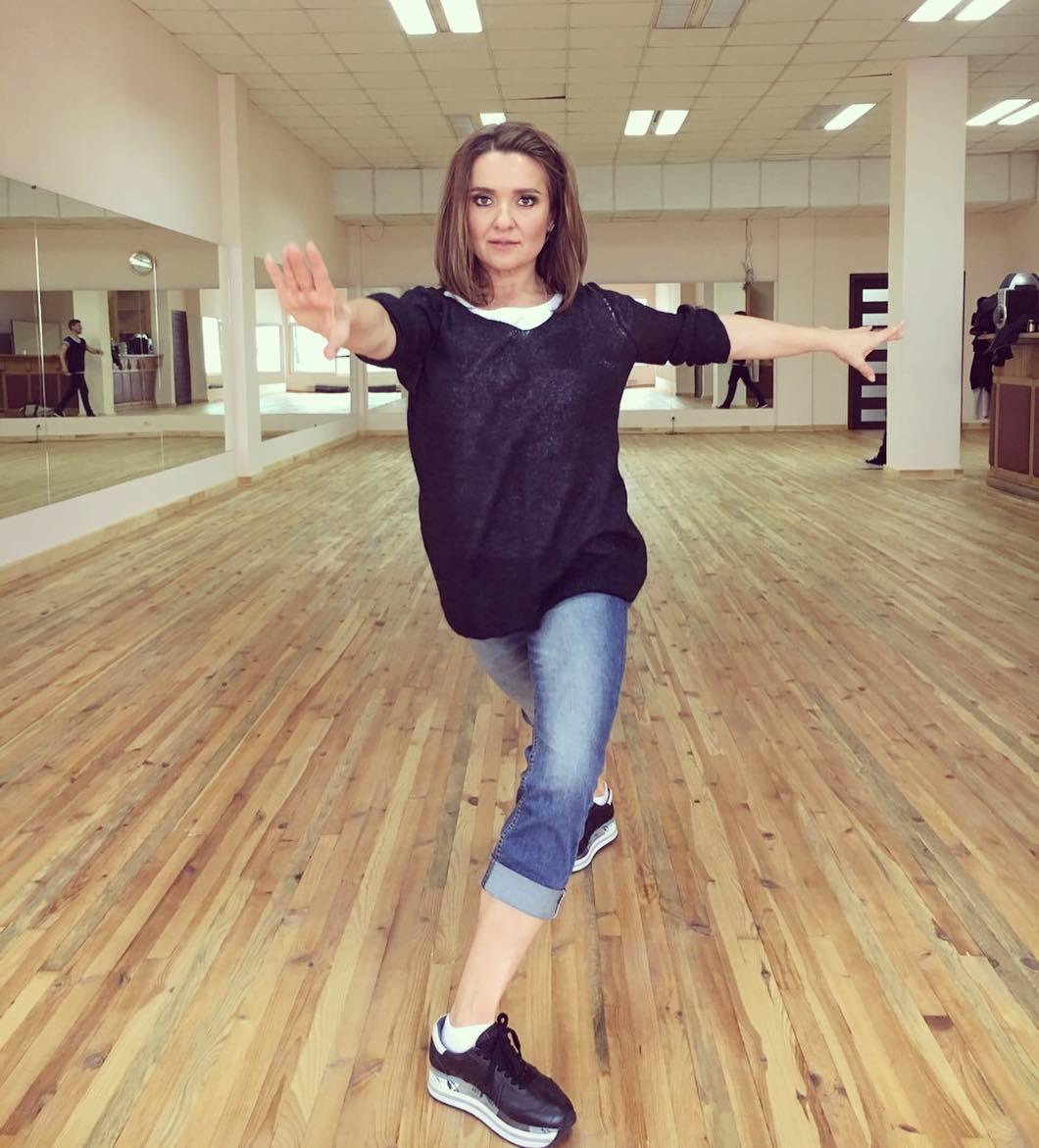 Наталья Могилевская похвасталась шикарной растяжкой