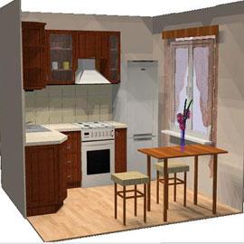 Создаем уютную кухню на 6 квадратных метрах