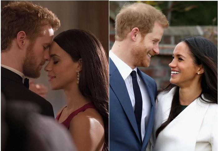 Появились первые кадры из фильма о королевской любви принца Гарри и Ме