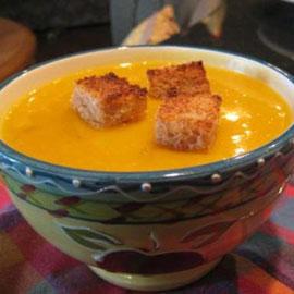 Блюдо дня. Осенний овощной суп