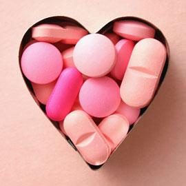Женщин лечат только розовые таблетки