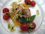 Салат из овощей и фруктов (Ангола)