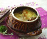 Суп-пюре из картофеля с чесноком