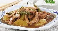 Курица с ананасом по-китайски