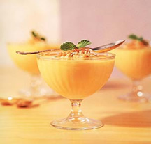 Мусс ананасовый