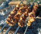 Шашлык из почек (таджикская кухня)