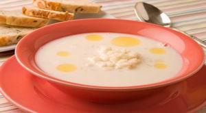 Суп молочный со свежей капустой балтийский