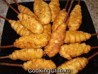 Куриные ножки в тесте по-цыгански (свадебное блюдо)