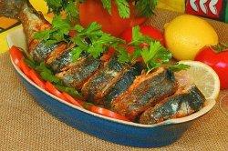 Рыба в сметане по-деревенски