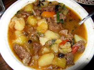 Венгерский боб гуляш (первые блюда)