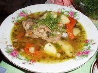 Нохат-шурва (суп узбекской кухни)