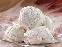 Мороженое со сгущенным молоком