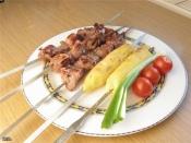 Жареный курдюк с медом по-адыгейски- старинное блюдо