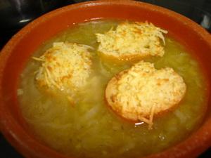Луковый суп по-крестьянски
