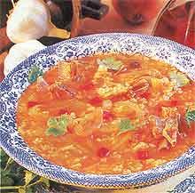 Бозартма из цыпленка  (Блюдо грузинской кухни)