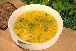 Куриный суп с тортильями