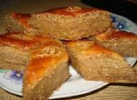 Пахлава шекинская