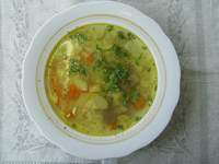 Суп из кабачков с рисом