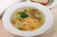 Суп из белых грибов с макаронами