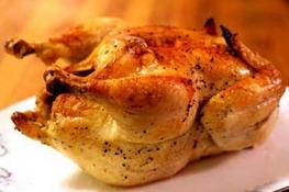 Курица с овощами в молочном соусе