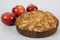 Яблочный пирог с корицей по-чешски