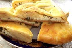 Хачапури с картофельной и сырной начинкой по-грузински