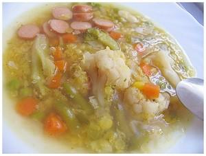 Фасолевый суп с колбасками-грильжурнал Гастрономъ
