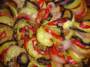 Рататуй - овощное рагу