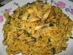Шам-кебаб плов (блюдо азербаджанской кухни)