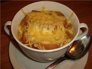 Суп восточный луковый