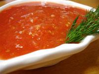 Соус чесночно-томатный