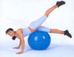 Фитбол - оазис для спины при сидячей работе