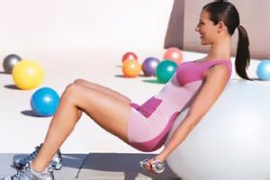 Как похудеть при помощи фитбола