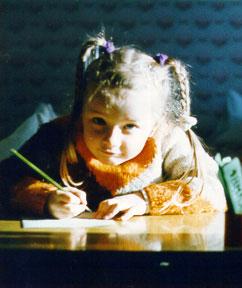 Как подготовить руки ребенка к письму