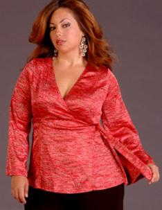 Как c помощью одежды скрыть пару лишних килограммов?