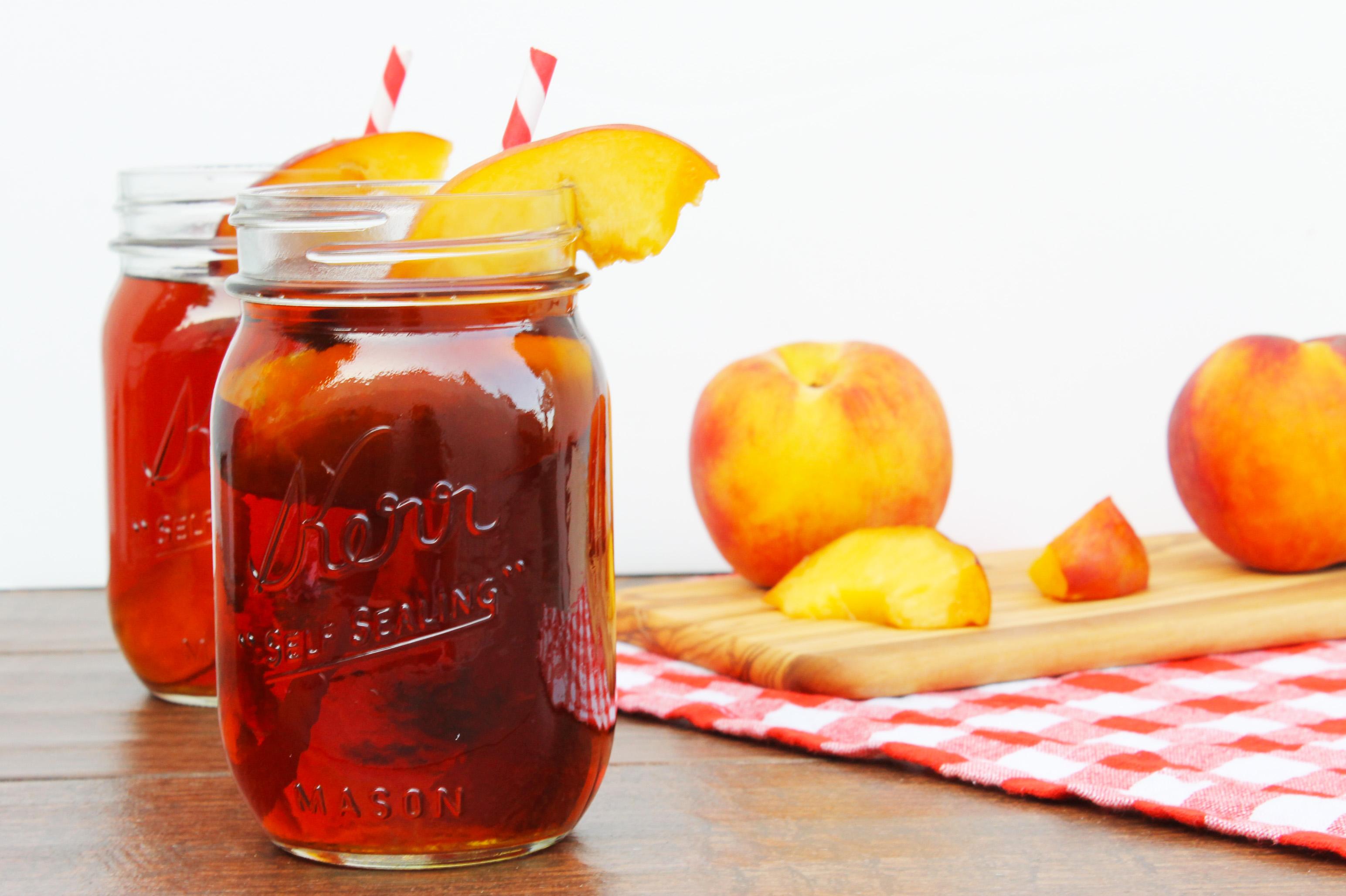 Рецепт компота из персиков на зиму