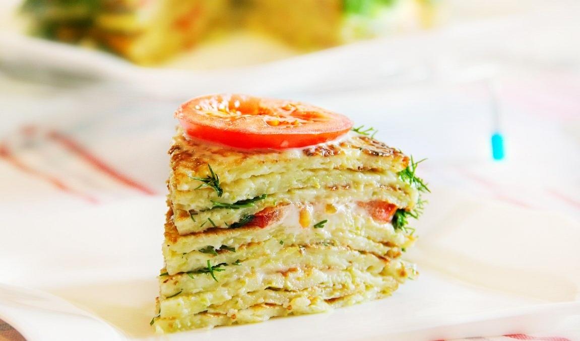 его овощной торт постный рецепты с фото для