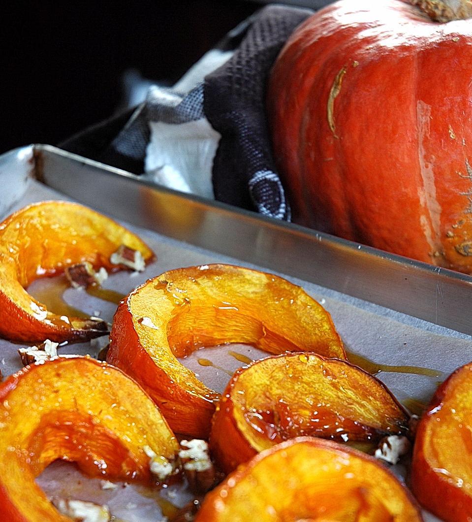 рецепт тыквы запеченной в духовке с овощами рецепт