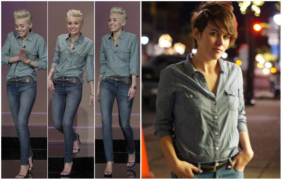 Девушка неделю одевалась как Майли Сайрус: смелый эксперимент со звездным стилем - фото №4