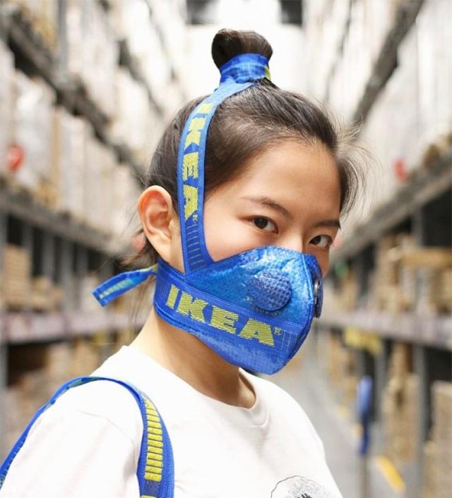 IKEA Big Blue Bag: самая модная сумка сезона ― пример модного ресайклинга