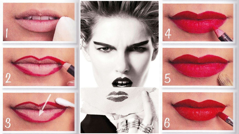 Как носить красную помаду: 3 типа макияжа   HOCHU.UA