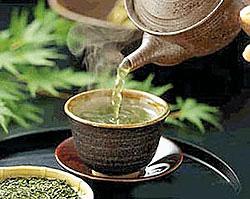 чашка зеленого чая фото