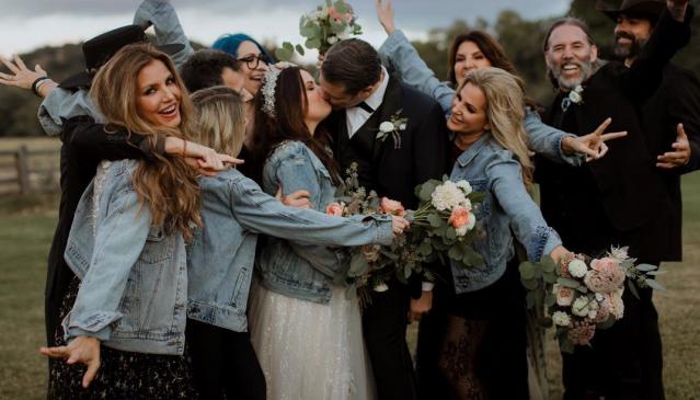 свадьба холли мари комбс
