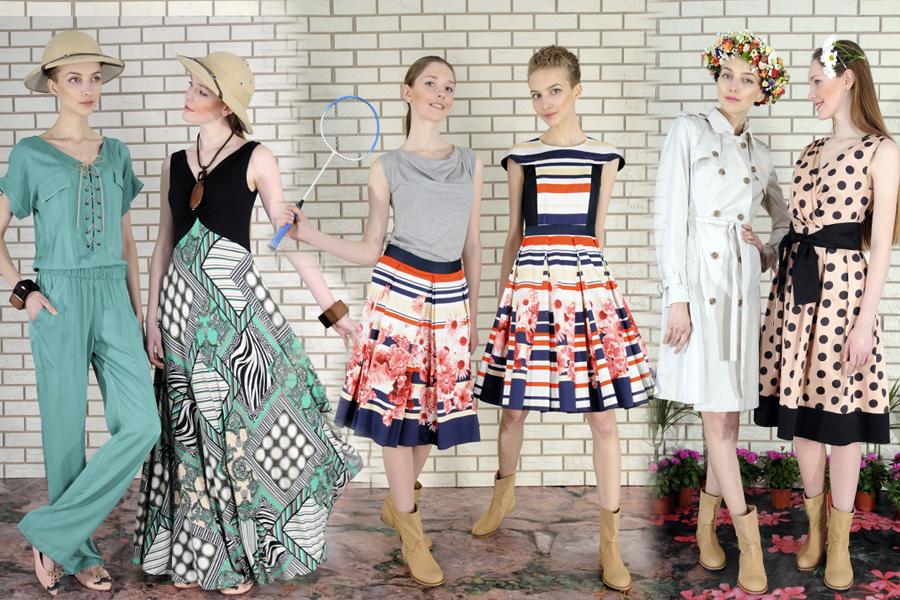 О бренде  Dolcedonna - демократичная линия известного украинского дизайнера  Елены Голец. Впервые была представлена в 2003-м году на