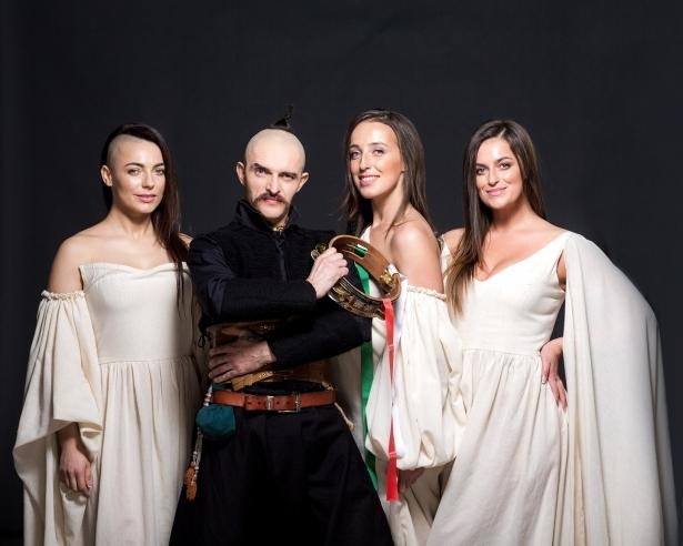 Козак Сіромаха і тріо Girls in jazz