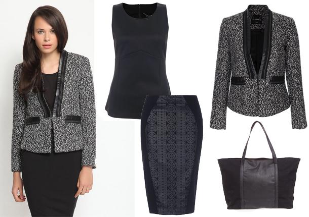 Как одеться на работу модно