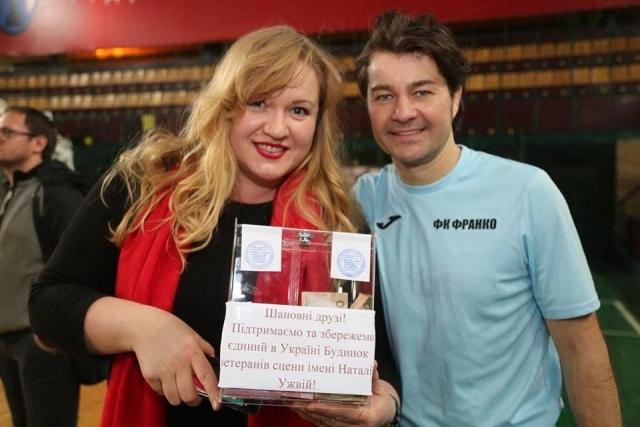 Олеся Жураковская и Евгений Нищук