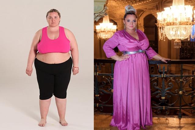 оля розовая до и после